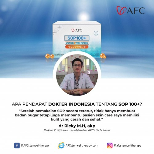 AFC Life Science dr. Ricky M.H, akp