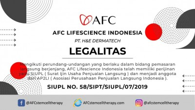 AFC Life Science Legalitas AFC Life Science