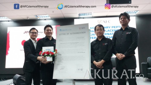 AFC Life Science Jadi Alternatif Terapi Stem Cell, Salmon Ovary Peptide Sudah Hadir di Indonesia